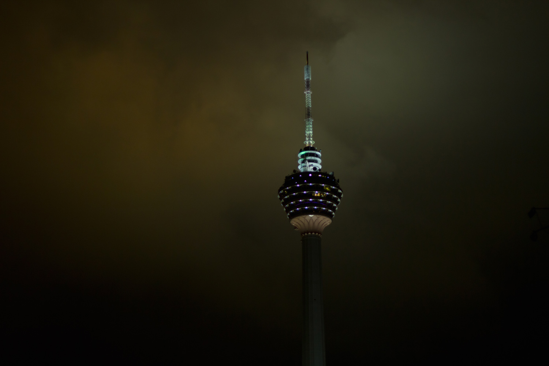 KL Tower at night, Kuala Lumpur, Malaysia